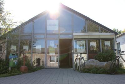 Glashaus Vorderseite